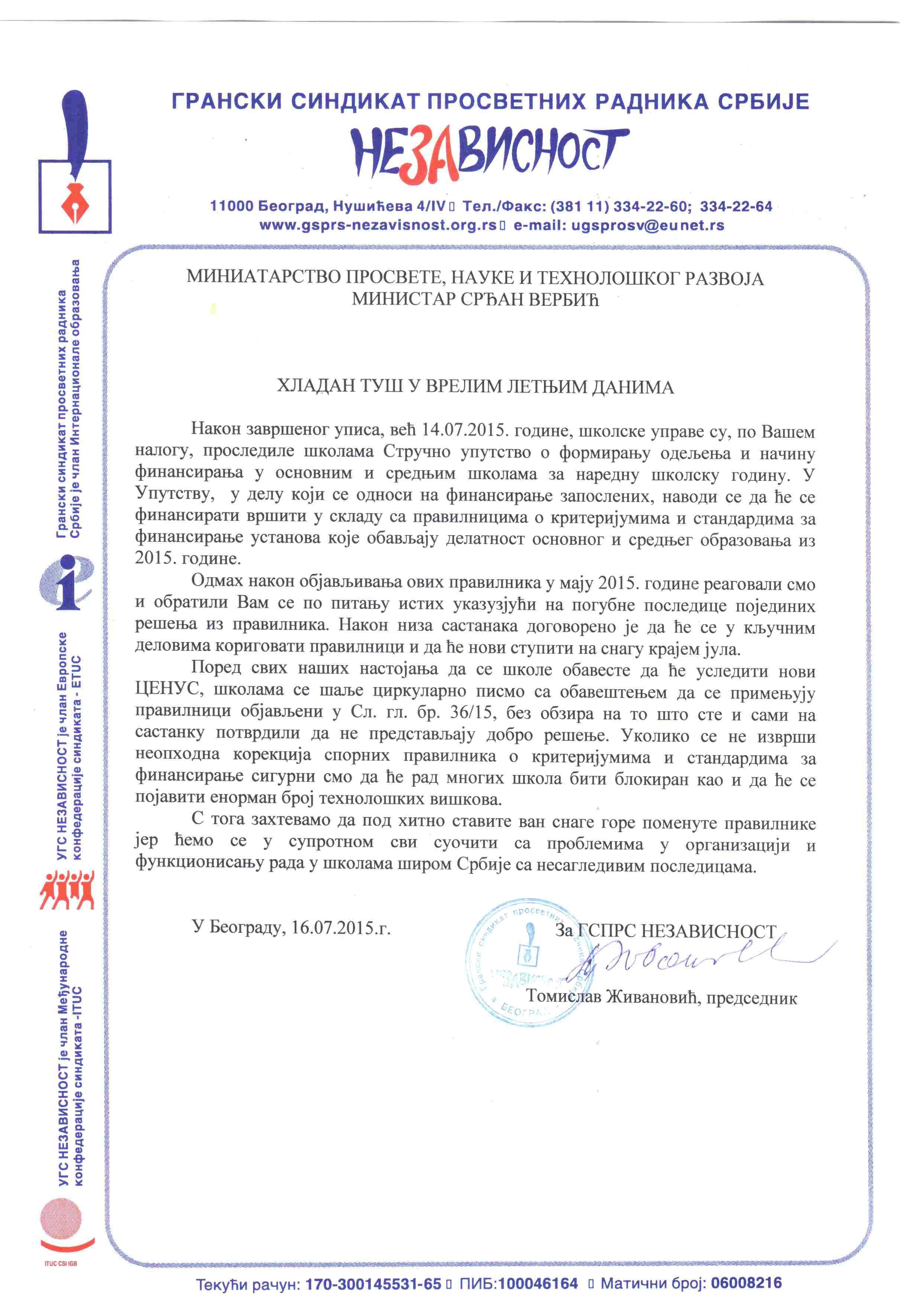 Dopis Ministru 16.7.2015 15-50